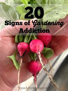 gardening addiction