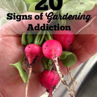 20 Signs of Gardening Addiction