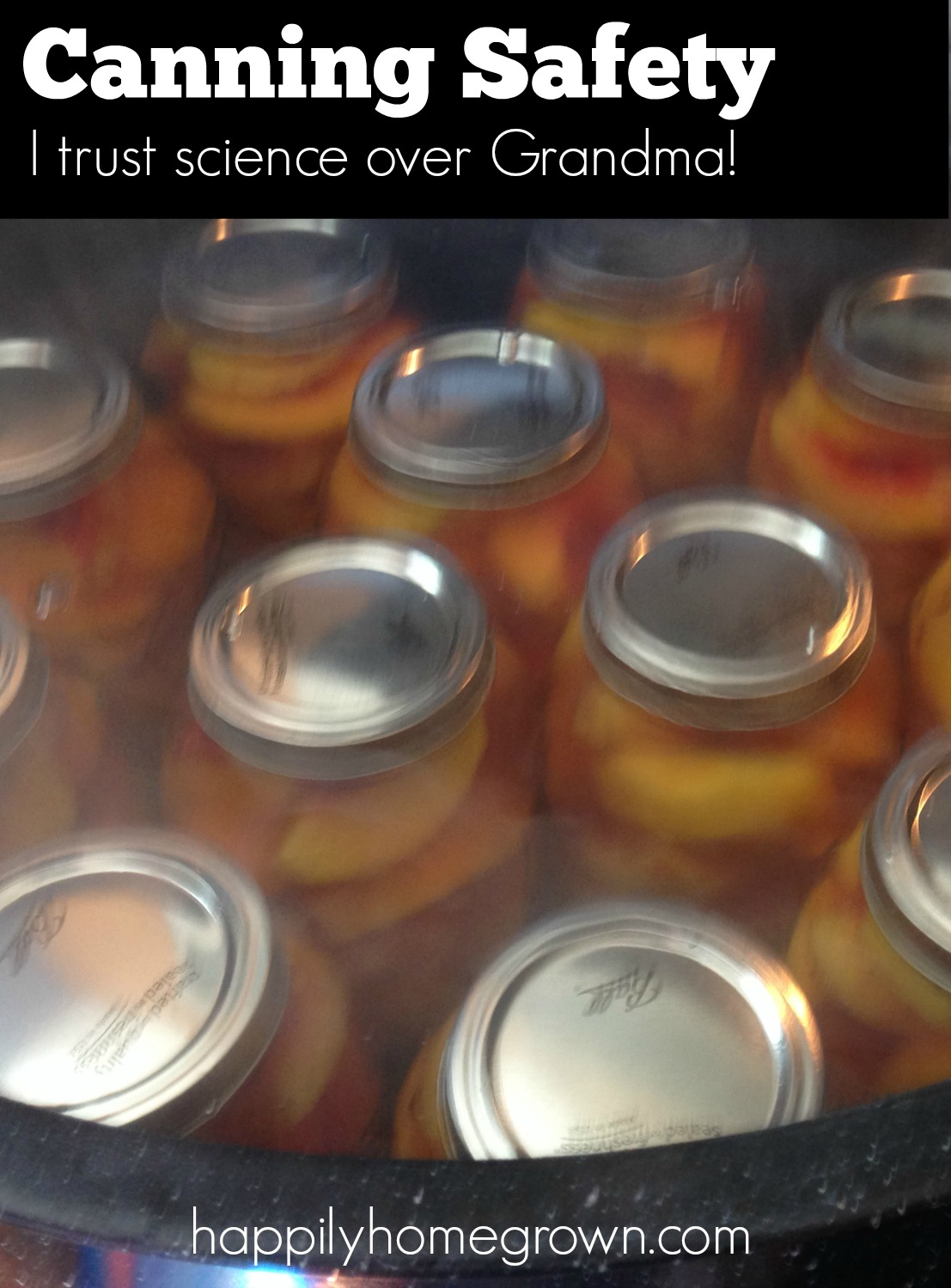 canning safety