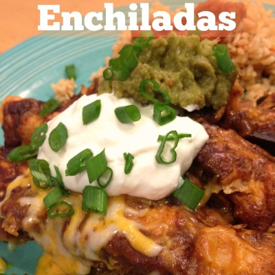 Chicken & Cheese Enchiladas