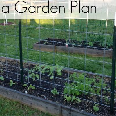 Evolution of a Garden Plan