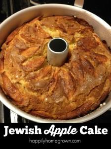 Jewish Apple Cake – My Family's Recipe