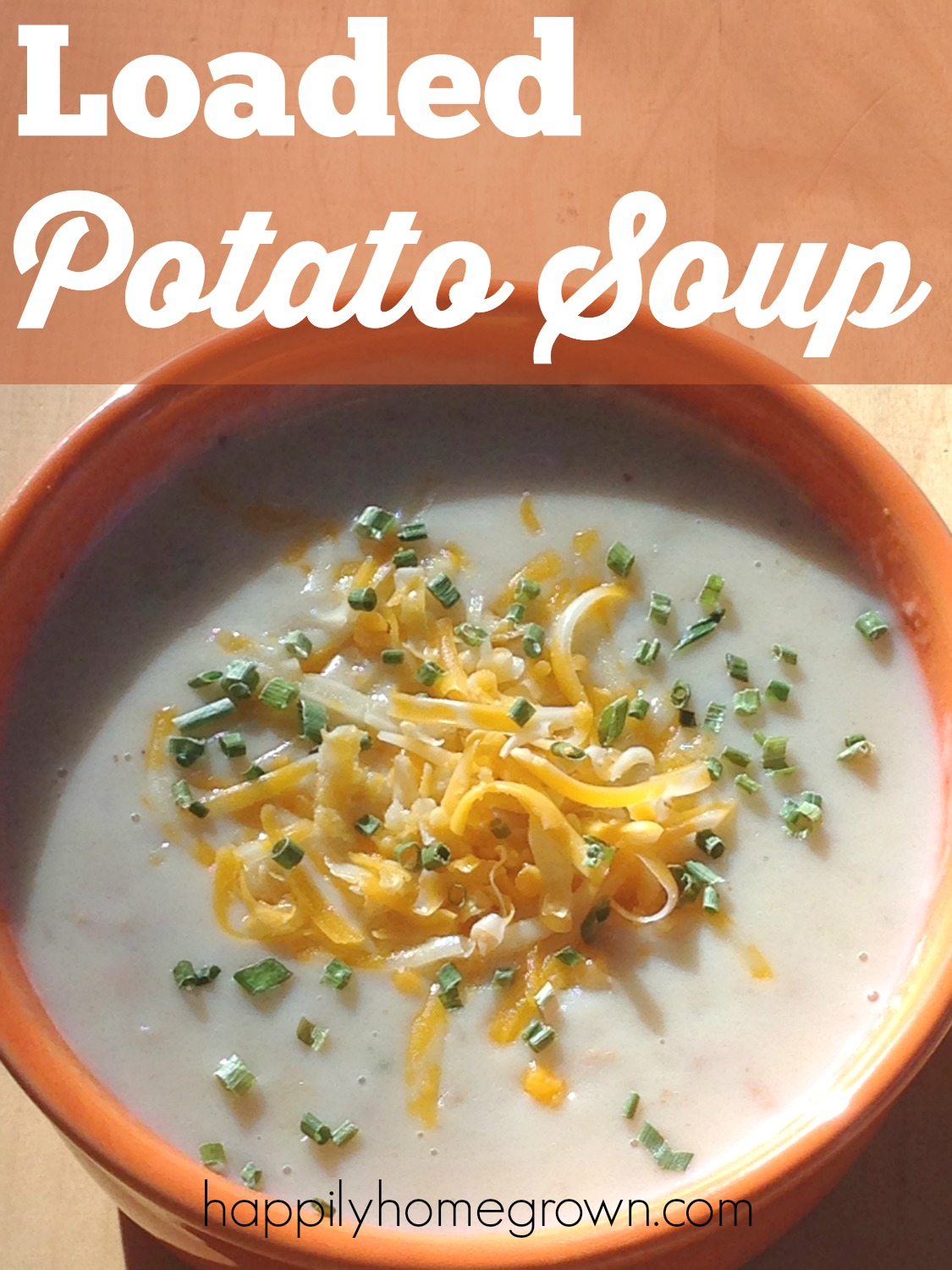 What's better than a warm bowl of soup on a cold day? Try this creamy Loaded Potato Soup with some crusty bread and you'll have the perfect comfort food.