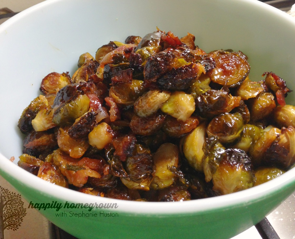 maple-bacon brussels sprouts 2