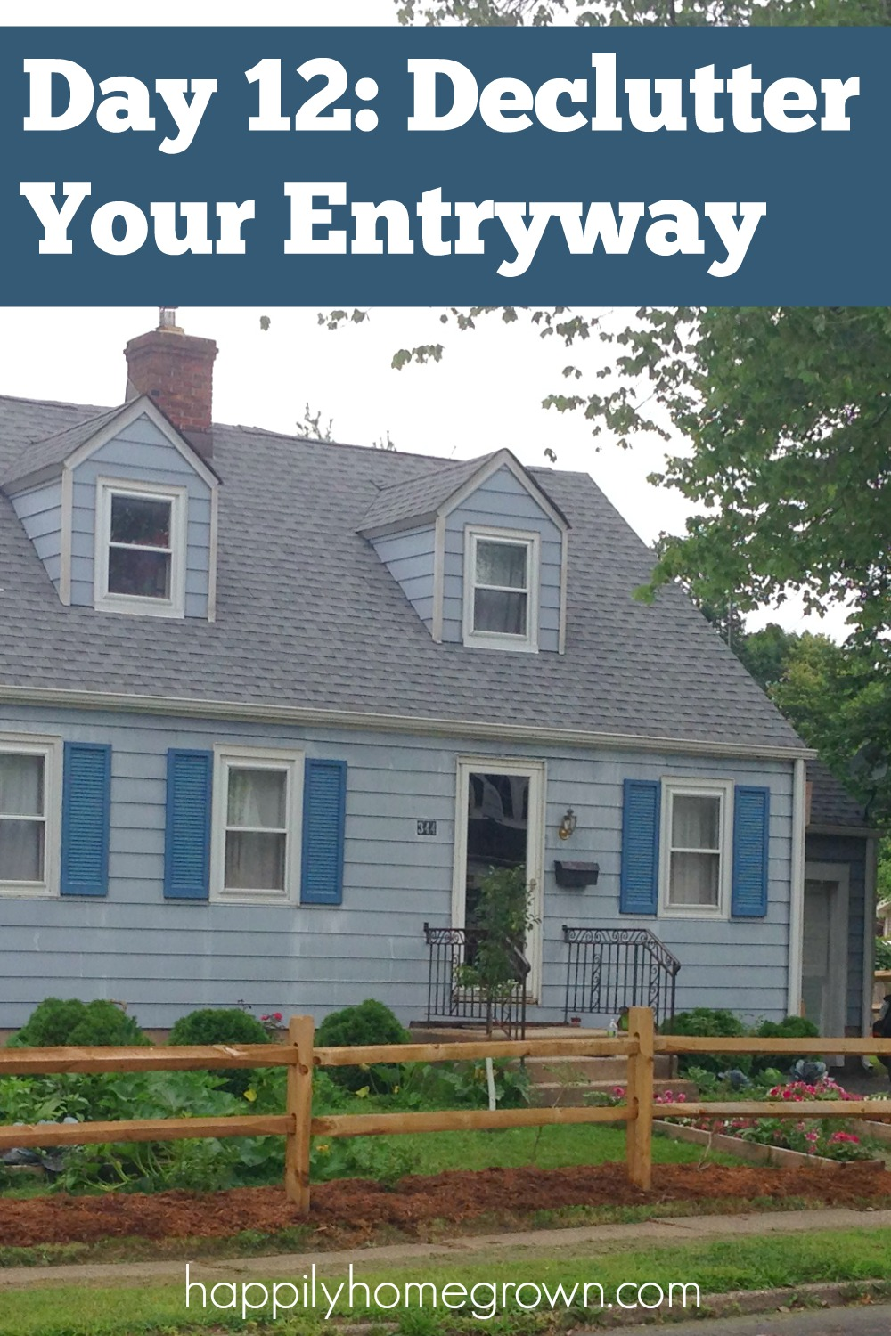 Day 12 Declutter Your Entryway