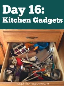 Day 16: Kitchen Gadgets