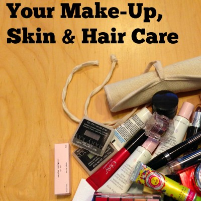 Day 3: Declutter Your Make-Up, Skin & Hair Care