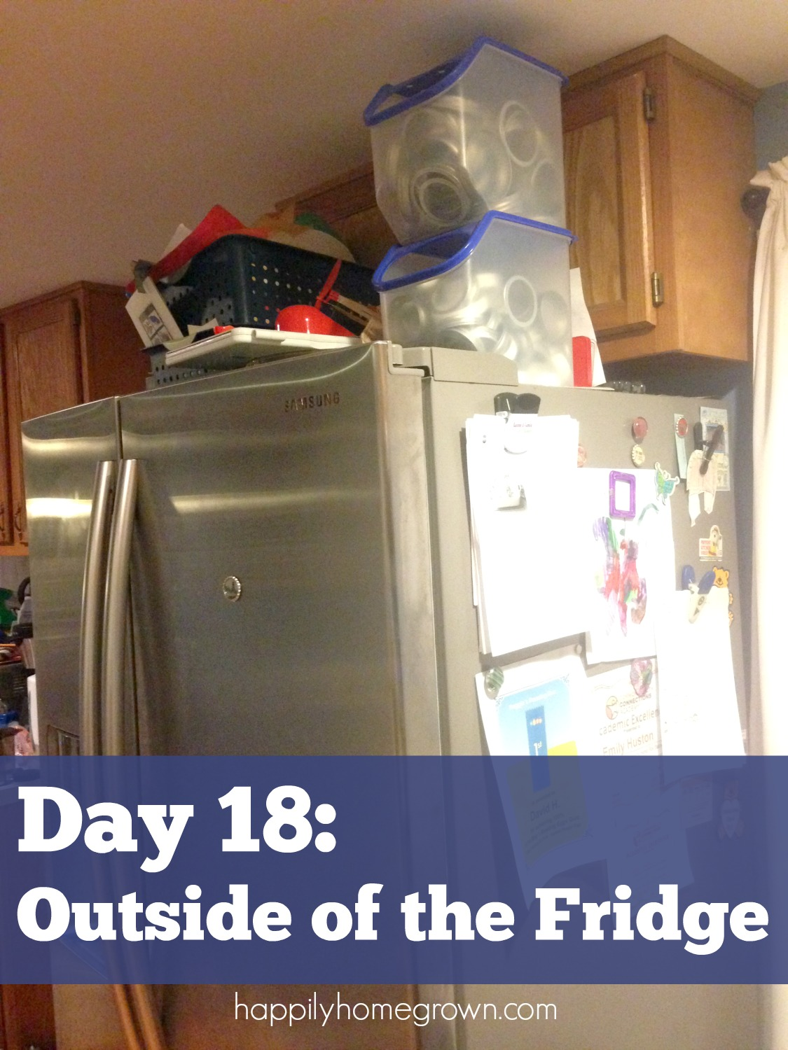day 18 outside of the fridge