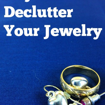 Day 4: Declutter Your Jewelry