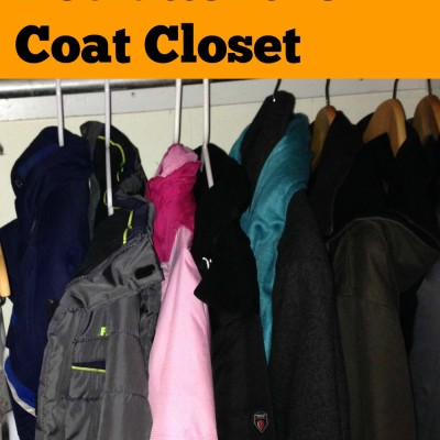 Day 6: Declutter the Coat Closet