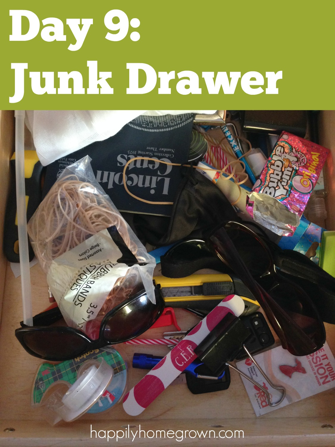 day 9 junk drawer