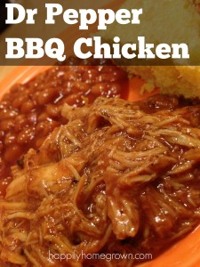 Dr Pepper BBQ Chicken