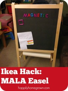 IKEA Hack of the MÅLA Easel