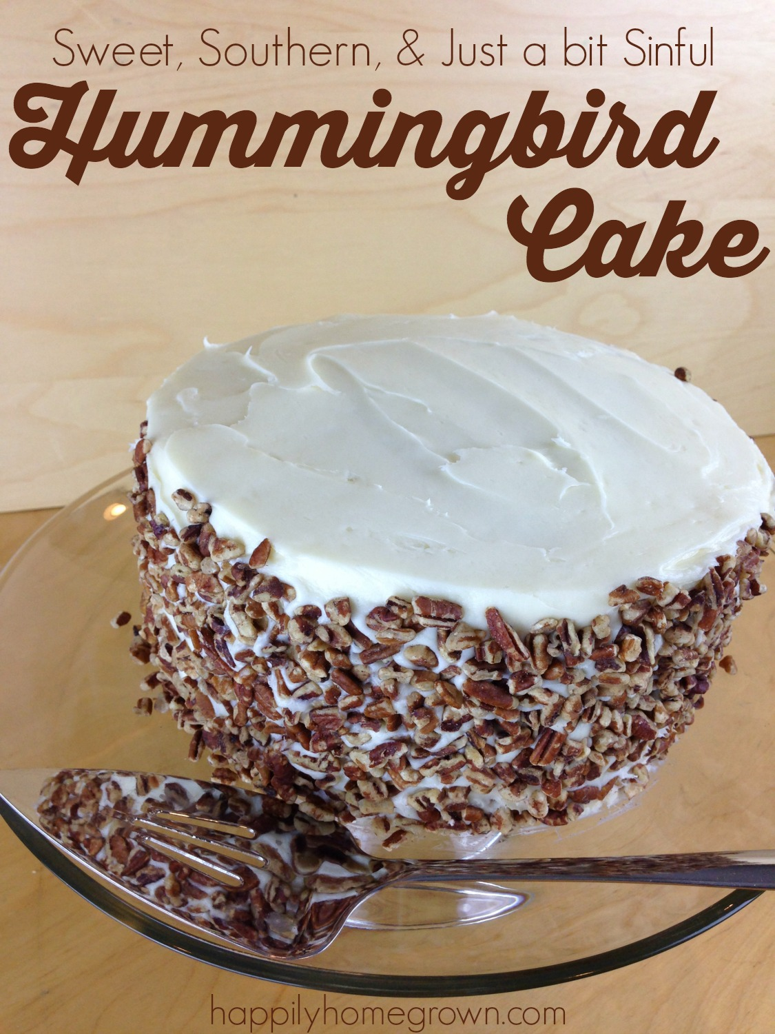 hummingbird cake cover