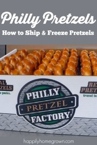 Philly Pretzels | How to Ship and Freeze Pretzels