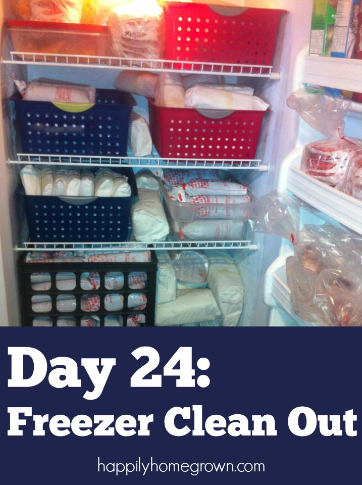 With a little time before you put things into the freezer, and some time cleaning out what you already have, you will have a perfectly decluttered freezer in no time!
