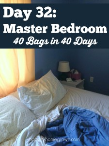 Your master bedroom should be a sanctuary, and not a cluttered mess. Here is my spring cleaning & decluttering plan to make it happen.