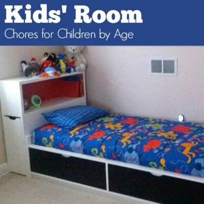 Day 33: Kids' Room – Chores for Children by Age