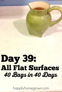 Day 39: All Flat Surfaces