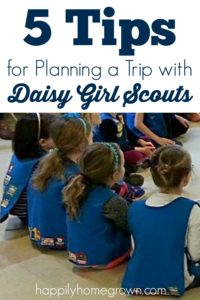 Girl Scouts is about teaching decision making & leadership skills, even to Daisy Girl Scouts. Here are 5 Tips for planning a trip with your Daisy Troop!