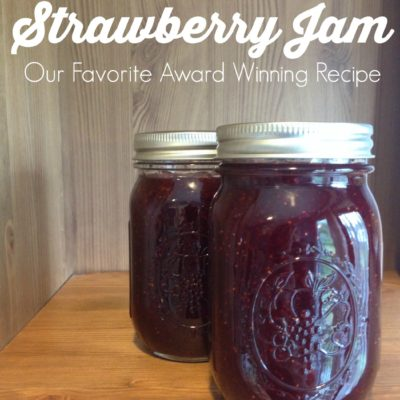 Homemade Strawberry Jam: Our Favorite Award Winning Recipe