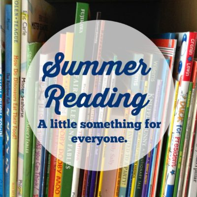 Summer Reading – Something for Everyone