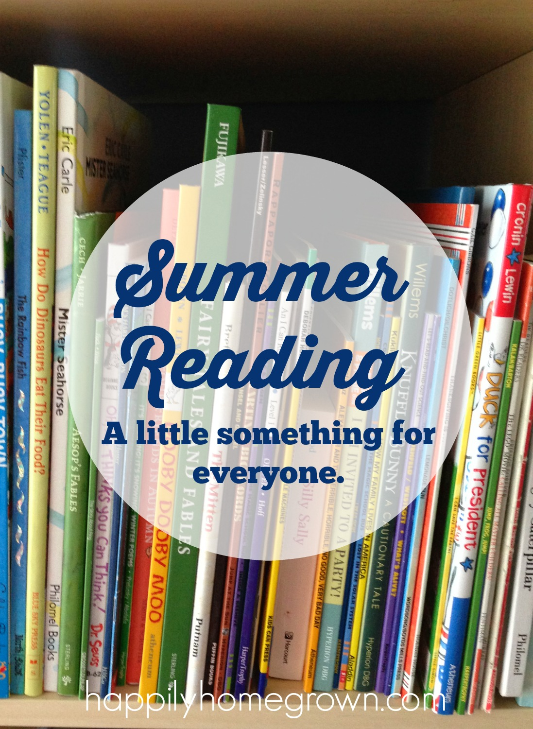 Summer reading is a great way to travel to new places, meet new people, and experience new things, all within the pages of a book.