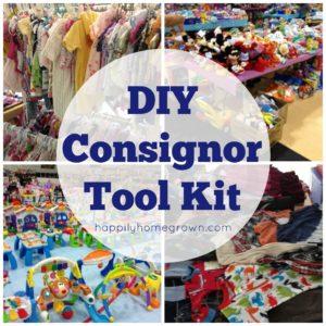 DIY Consignor Tool Kit