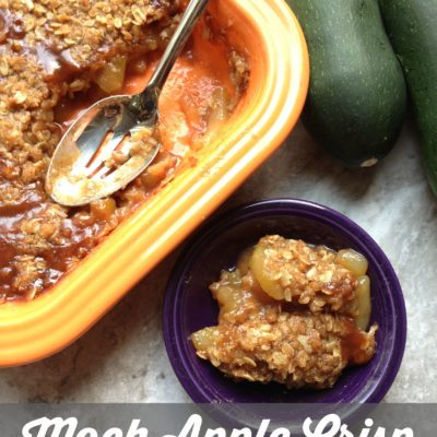 Mock Apple Crisp with Zucchini