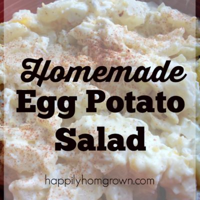 Homemade Egg Potato Salad