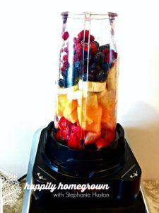 Rainbow Smoothie: Eat A Rainbow Every Day!