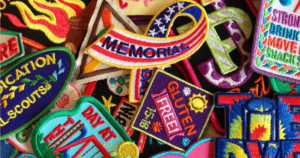 Besides GSUSA, there are many resources for getting fun patches for your Girl Scout troop. Here are three of my favorites.