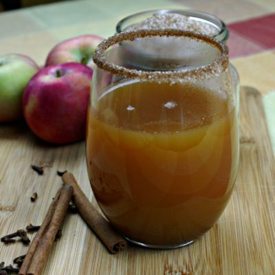 Fall Harvest Spiced & Spiked Apple Cider