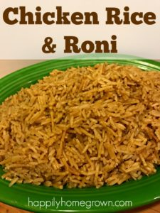 My meat and potatoes husband tried the homemade Chicken Rice & Roni, and loved it! Now we make a big batch for the pantry, and you can too!