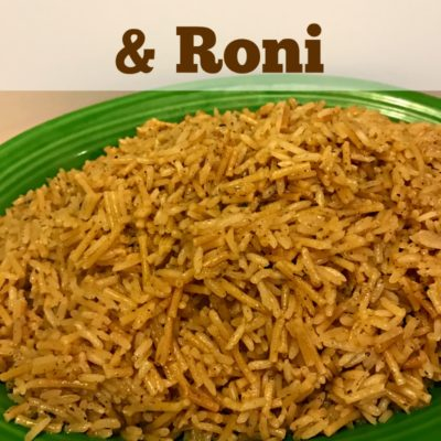 Homemade Chicken Rice & Roni Packets