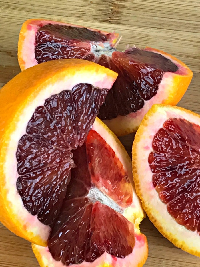 Have you ever tried a recipe just because it pushes you out of your culinary comfort zone? I plan on doing a lot of that this year, starting with marmalade. Blood Orange Marmalade is a delicious sweet tart fruit spread, that you are sure to enjoy on its own or in savory recipes.