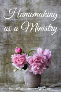 Homemaking as a Ministry