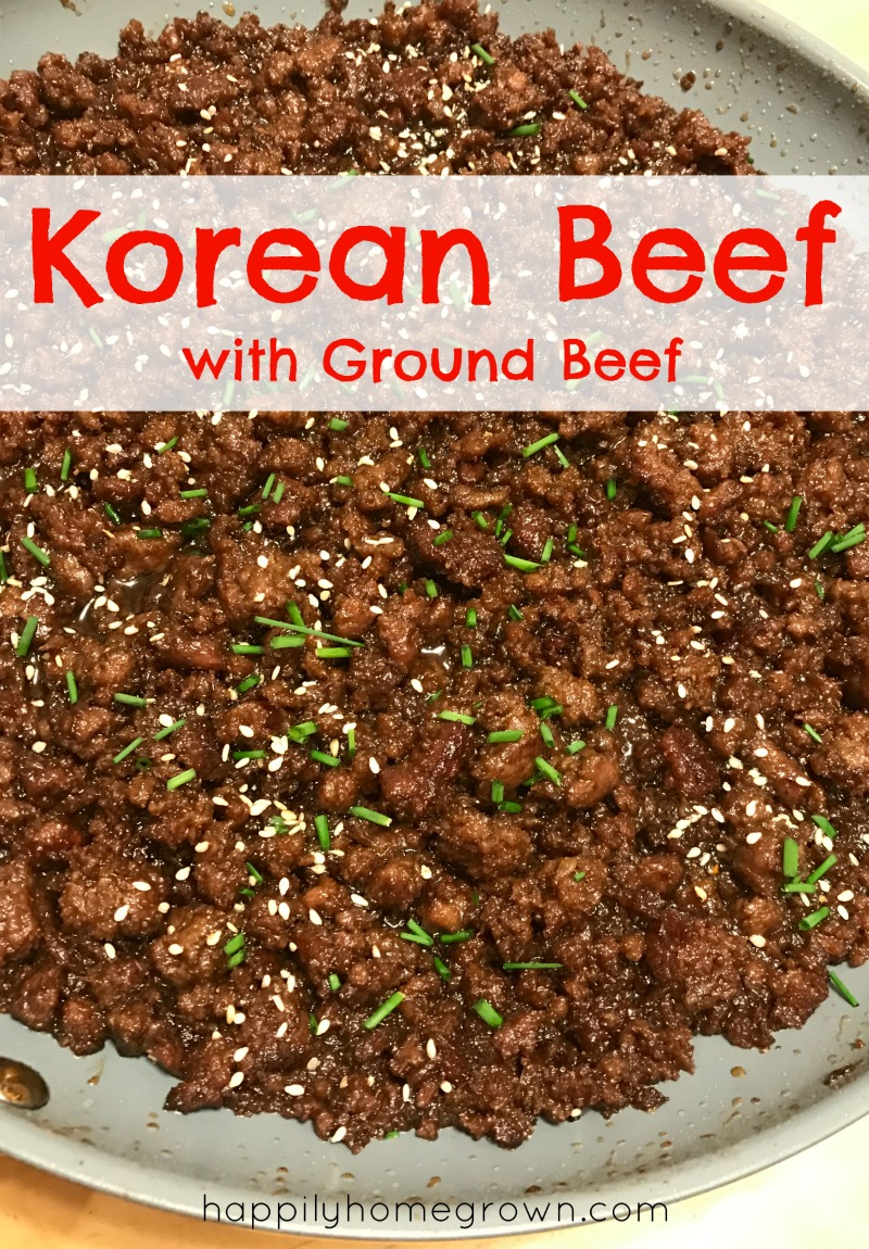 Korean Beef in only 30-minutes is perfect for those busy nights where you need dinner on the table fast. Now you can make your own takeout faster than it can be delivered!