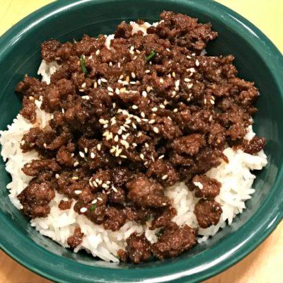 30-Minute Korean Beef