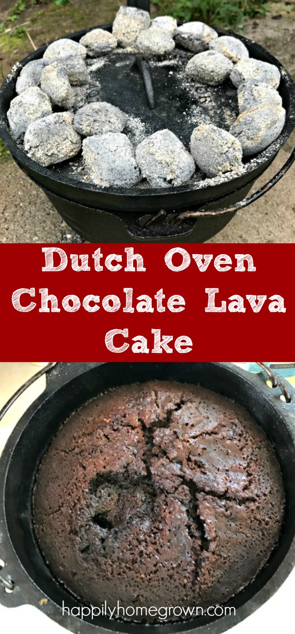 Dutch Oven Chocolate Lava Cake Is Sure To Impress The Oohs And Ahhhs When We