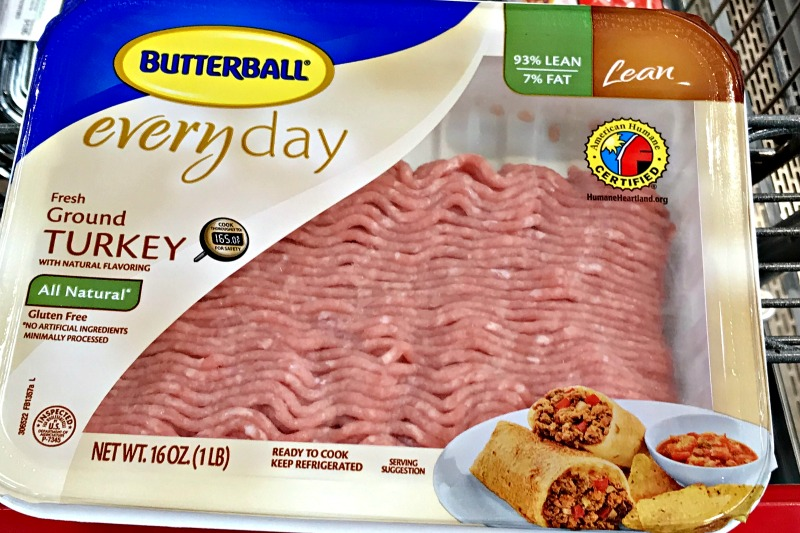 the same Butterball that we know and love for our Thanksgiving turkeys also gives us ground turkey for our quick weeknight meals.