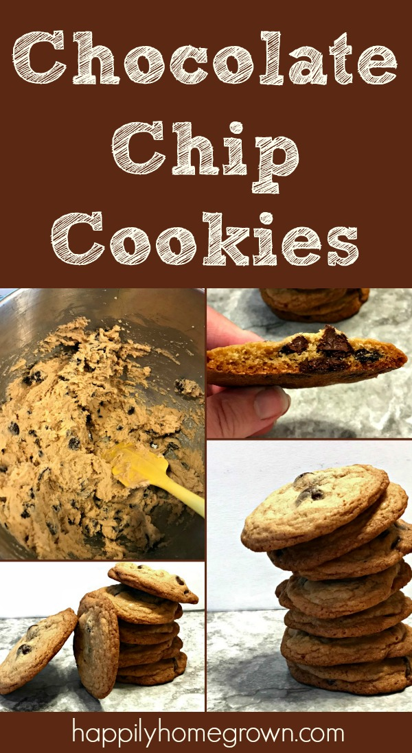 Our favorite chocolate chip cookies are a simple, old-fashioned recipe with regular ingredients & a few simple steps which bake up to perfect cookies every time.