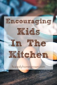Encouraging Kids In The Kitchen