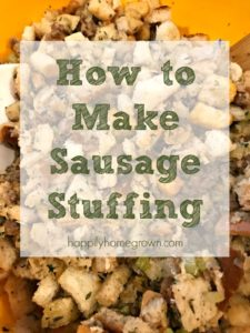 It's not Thanksgiving without our family's classic sausage stuffing. This spin on a traditional bread stuffing is easy to prepare, and tastes amazing stuffed in the turkey or baked in a casserole dish.