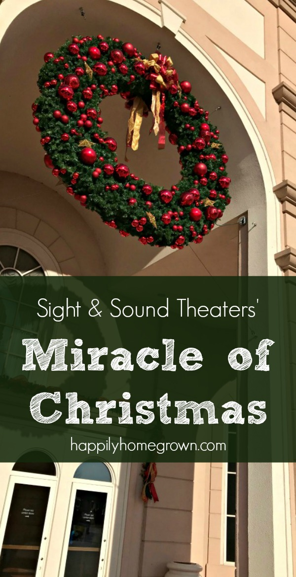 Sight & Sound Theaters, Lancaster PA & Branson MO, brings Miracle of Christmas to life on stage now through December 30, 2017.
