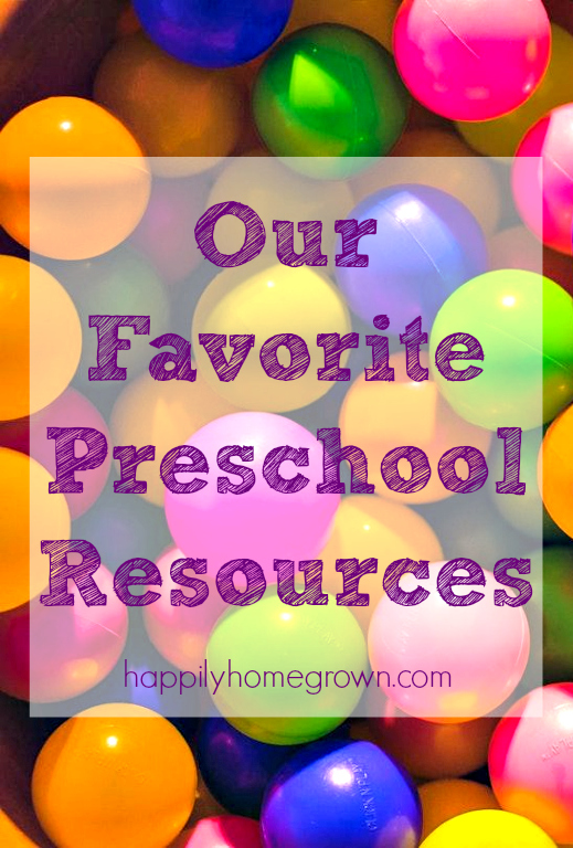 Preschool resources don't have to cost anarm & a leg. The items we use as part of our homeschool day are also used during regular playtime. That's how children learn best and its how we can keep them excited about learning as they get older.
