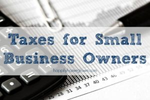 Taxes for Small Business Owners