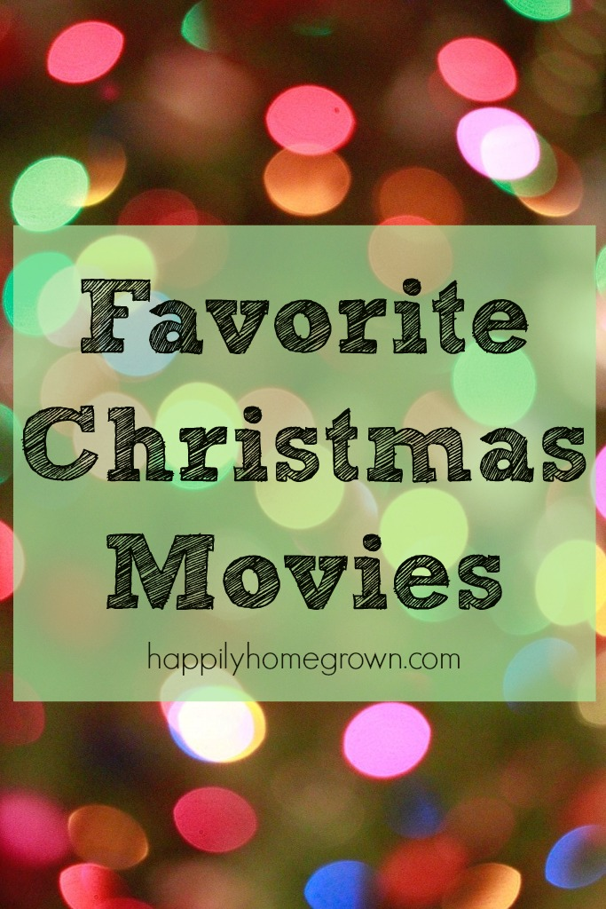 Here are our family's favorite Christmas movies.  Have any of your favorites made the list?  Any you think we should check out?
