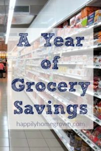 A Year of Grocery Savings