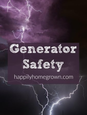 When the power is out, people get desperate, and in desperate times common sense goes right out the window.  Don't make a fatal mistake by being unprepared.  Have a plan on where and how you will use your generator when the power goes out.